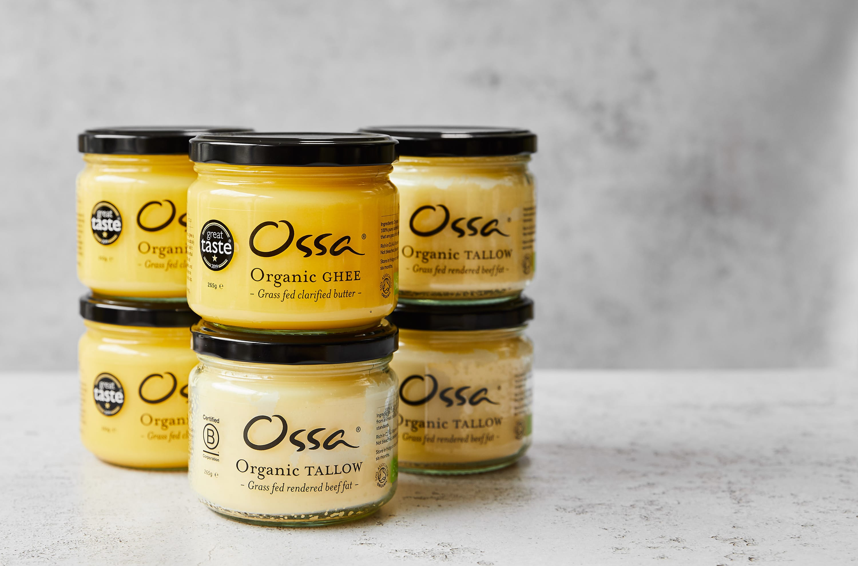 Ossa Organic ghee and tallow